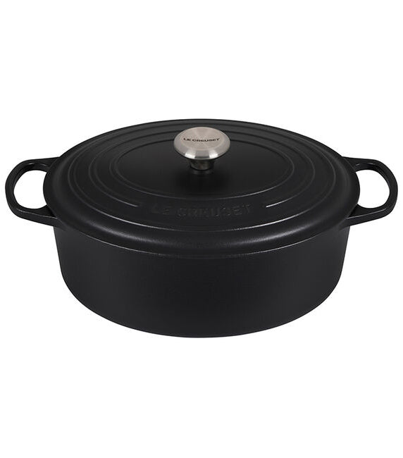 Le Creuset Oval Dutch Oven – 6.75 QT – Licorice