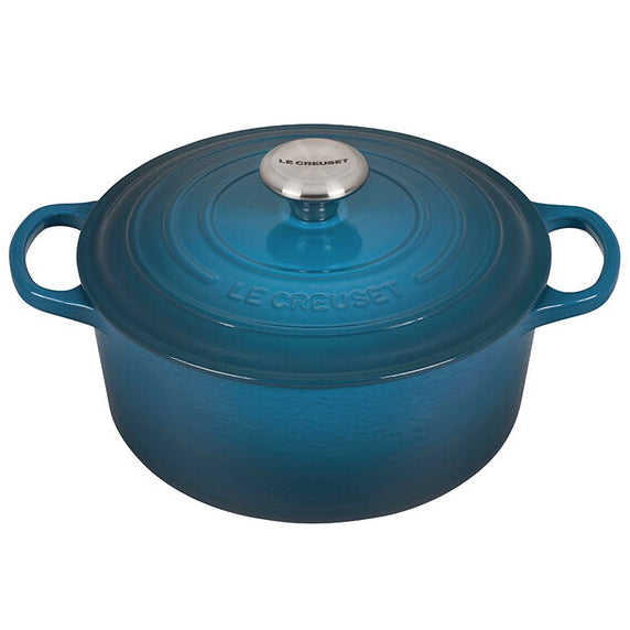 Le Creuset Round Dutch Oven – 4.5 QT – Deep Teal