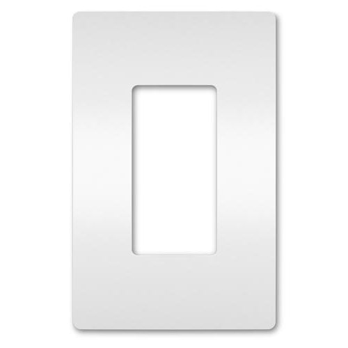 Radiant Screwless Wall Plate – White