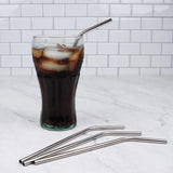 Endurance Stainless Steel Straws – Set of 4