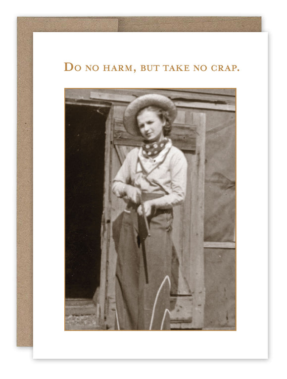 Shannon Martin Birthday Card – Do No Harm