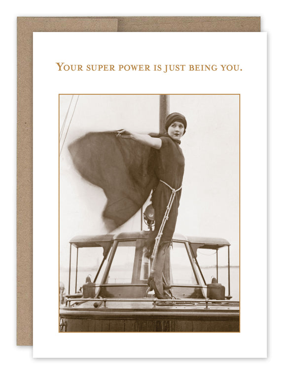 Shannon Martin Birthday Card – Super Power