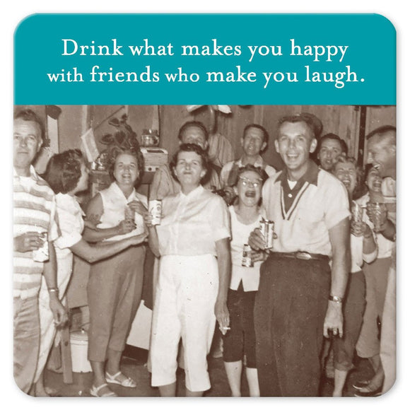 Shannon Martin Coaster – Happy With Friends