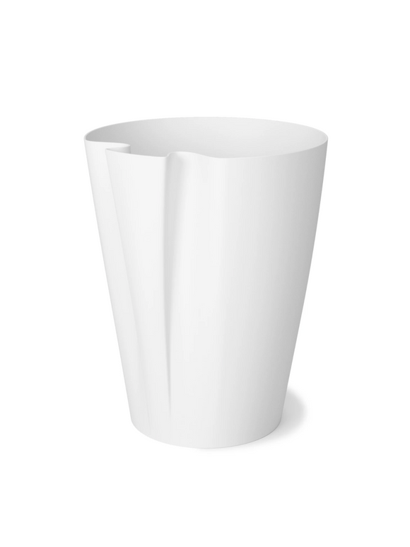 Umbra Grab Trash Can – White