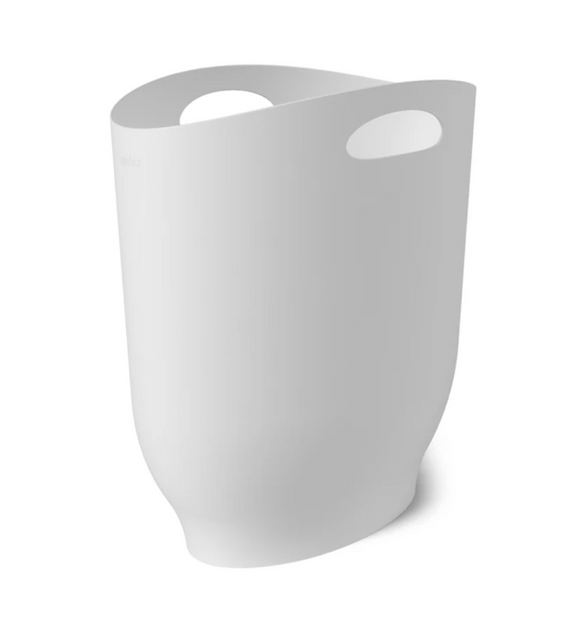Umbra Harlo Trash Can  – White – 2.4 Gallon