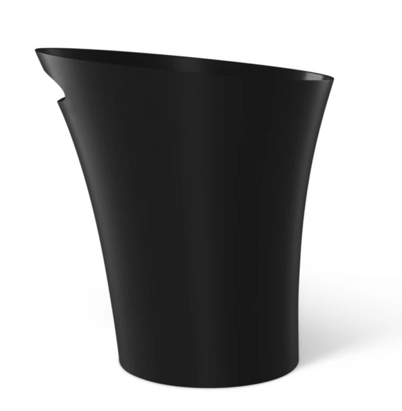 Umbra Skinny Trash Can – Black – 2 Gallon