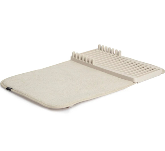 Umbra Dish Drying Rack & Mat In One – Linen