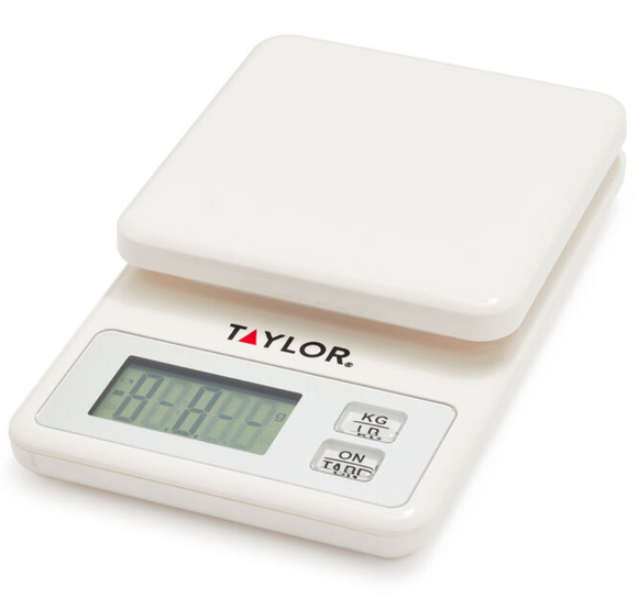 Taylor Compact Digital Kitchen Scale