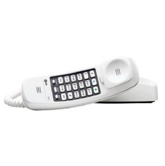AT&T White Trimline Corded Phone