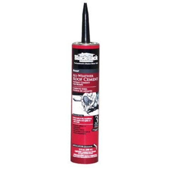 Wet/Dry Surface Roof Cement – 10-oz