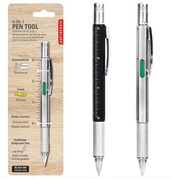 Kikkerland Pen Multi Tool – Single Pen