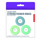 Kikkerland Hand Strengtheners – Pack of 3