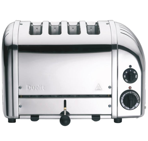 Dualit 4 Slice Newgen Toaster - Chrome
