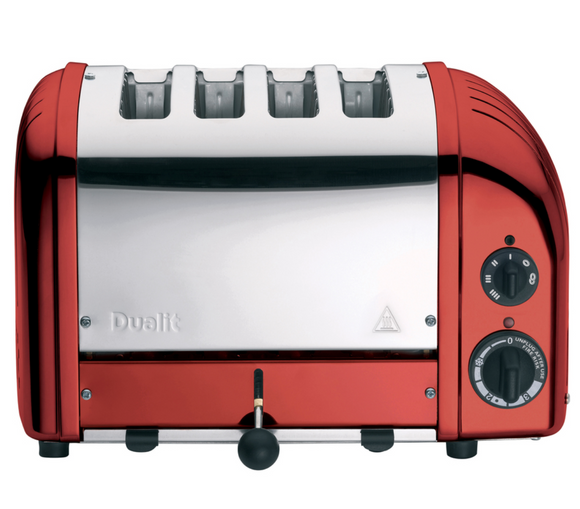 Dualit 4 Slice Newgen Toaster - Candy Apple Red