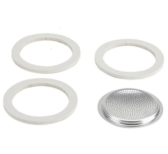 Bialetti Moka Express – 3 Cup Replacement Gasket/Filter