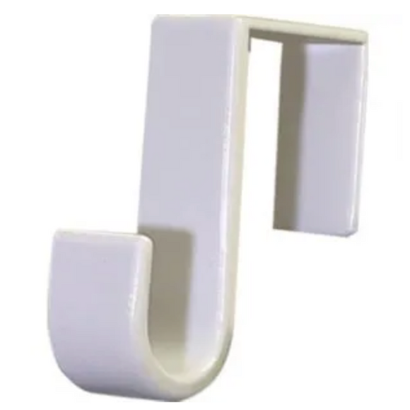 Over-The-Door Hook – White