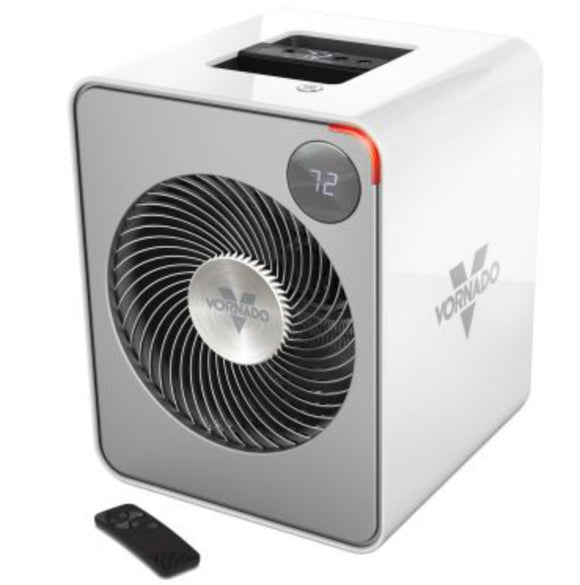 Vornado Auto Climate Whole Room Metal Heater – Ice White