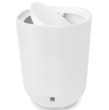Umbra Covered Waste Can – 1.7 Gallon – White