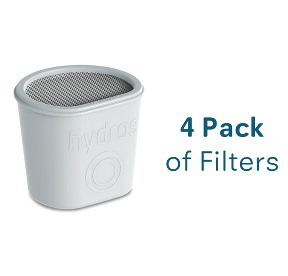 Hydros Water Filtration Filters - Pack of 4
