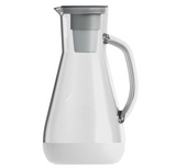 Hydros Water Filtration Pitcher – 64 oz. – White
