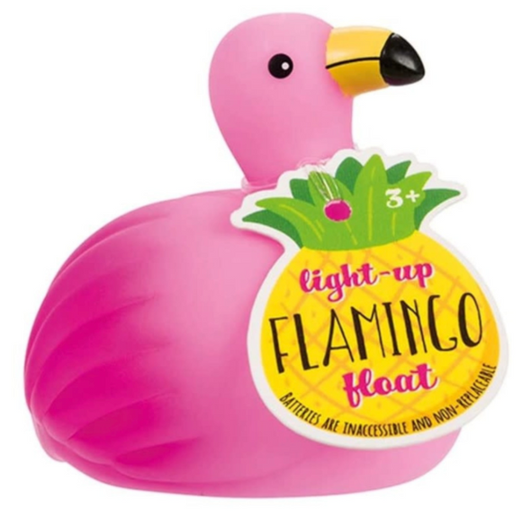 Flamingo Color Changing Bath Duck Toy