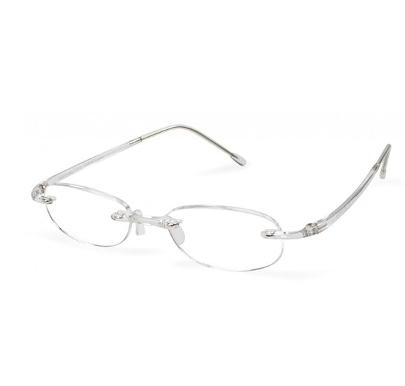 Scojo Gels Original Reading Glasses – Crystal