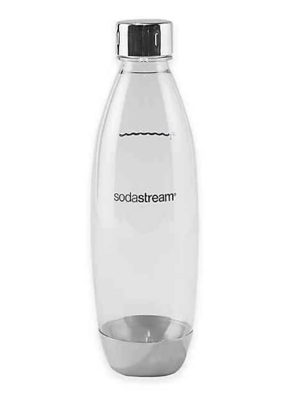 Sodastream 1 Liter Slim Bottle – Stainless Steel