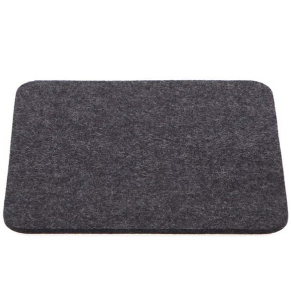 Graf Lantz Small Felt Tile Trivet – Charcoal – 9x9in