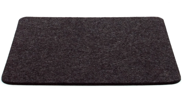 Graf Lantz Large Felt Tile Trivet – Charcoal – 12x12in
