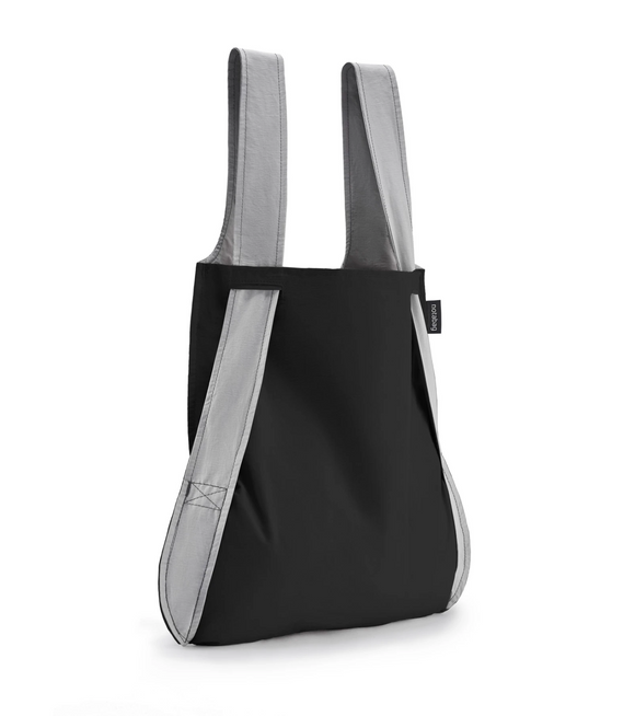 Notabag Convertible Tote Backpack – Grey/Black