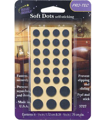 Magic Mounts Soft Dots – Assorted Sizes
