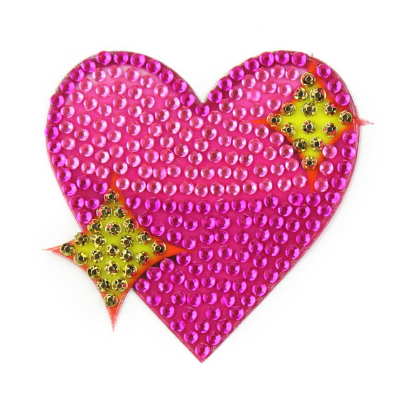 StickerBeans Sparkling Heart Sparkle Sticker – 2