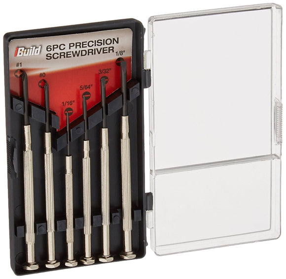 iBuild Precision Screwdriver, Set of 6