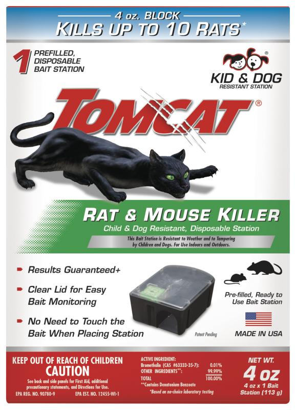 Tomcat Rat & Mouse Killer Disposable Station