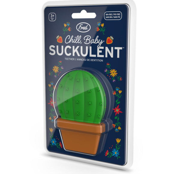 Suckulent Teether – Cut Your Teeth On A Cactus