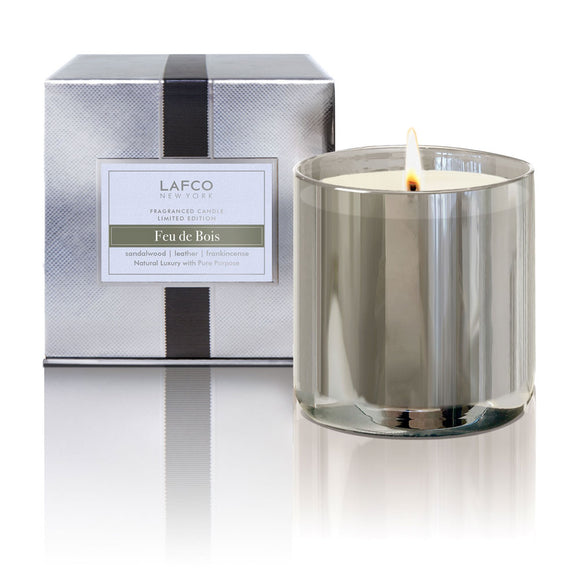 Lafco Limited Edition Holiday Signature Candle – Feu de Bois