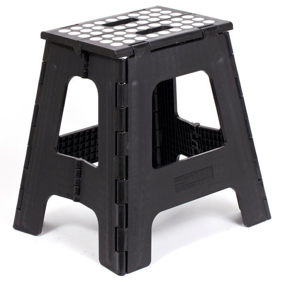 Kikkerland Folding Step Stool – Black