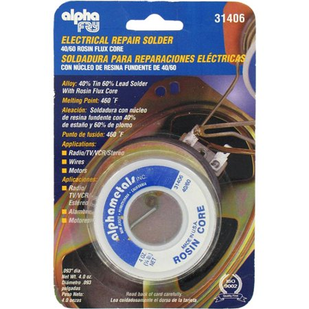 Leaded Electrical Solder – .093 Diameter – 4oz