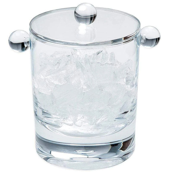 Crystal Clear Acrylic Ice Bucket & Lid - 60oz.