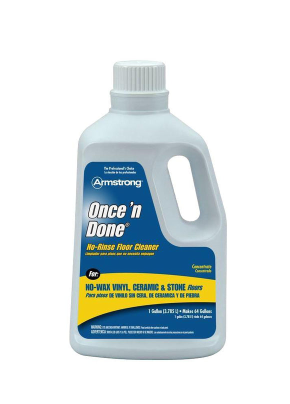 Armstrong Once 'n Done No-Rinse Floor Cleaner – 32oz