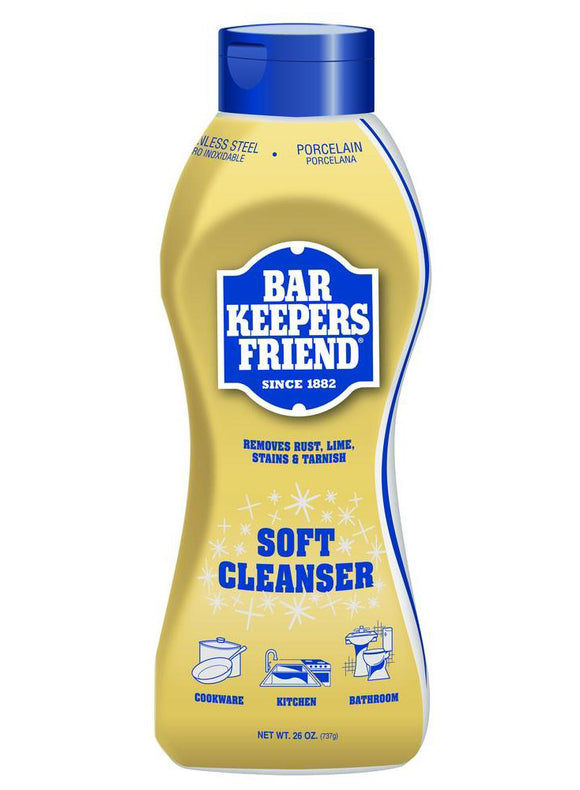 Bar Keepers Friend Soft Cleanser Liquid - 26 oz