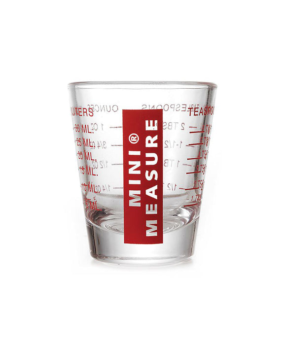 Mini Measure – Glass – 1oz