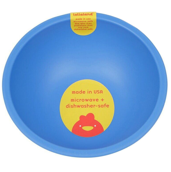 Lollaland Plastic Bowl – Blue