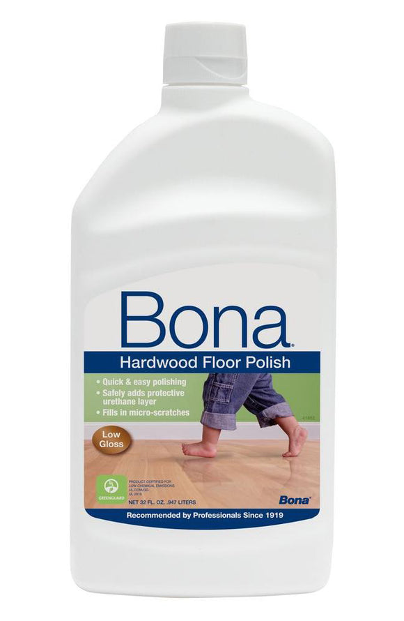 Bona Hardwood Floor Polish – Low Gloss – 36oz