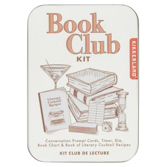 Kikkerland Book Club Kit