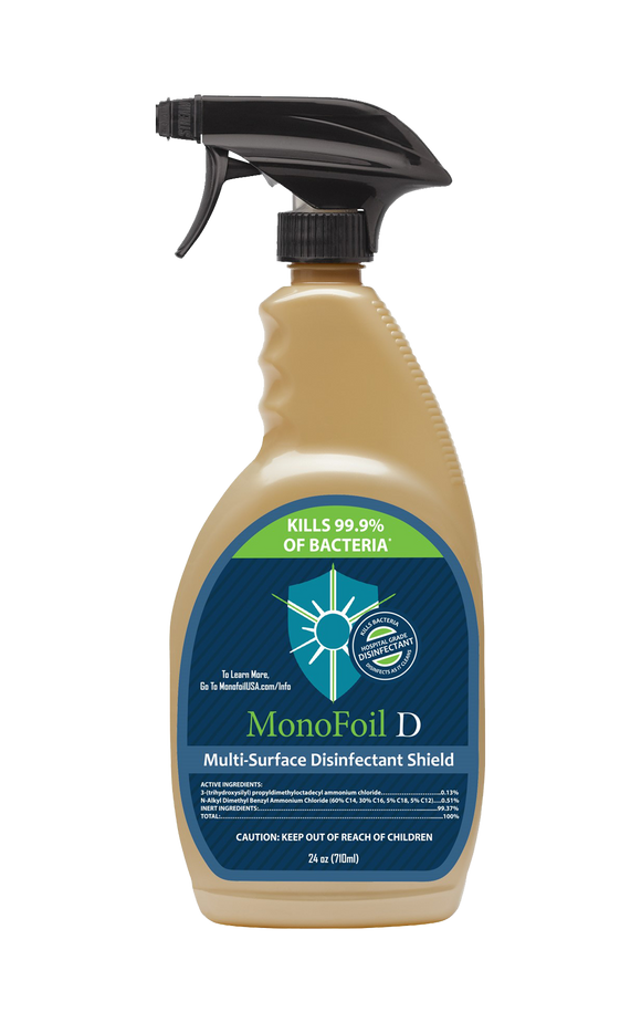 MonoFoil D Hospital Grade Disinfectant – 24oz