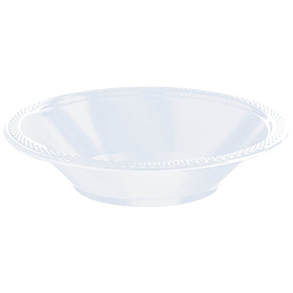 Clear Premium Plastic Bowls  - 12oz. – Set of 20