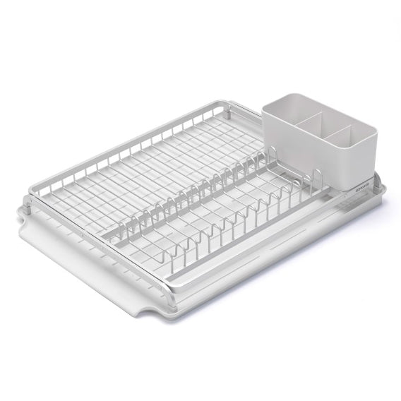 Brabantia Large Dish Drying Rack –  Light Gray