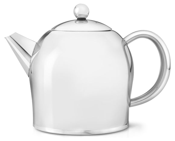Bredemeijer Santhee Stainless Steel Glossy Teapot  – 34 oz