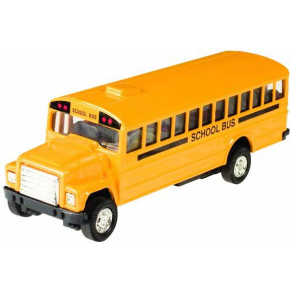 Pull-Back School Bus